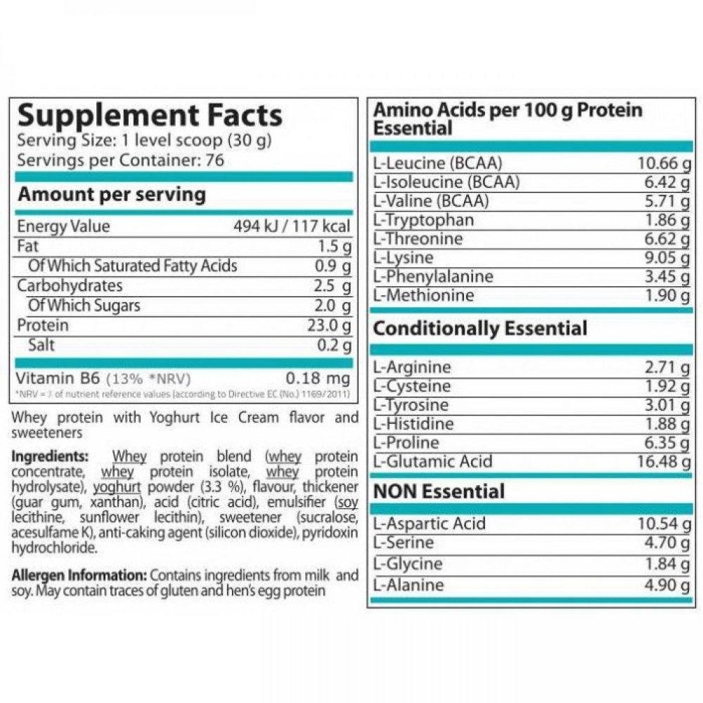 Pure Whey 2272gr + ΔΩΡΟ Daily Vits 50capsules