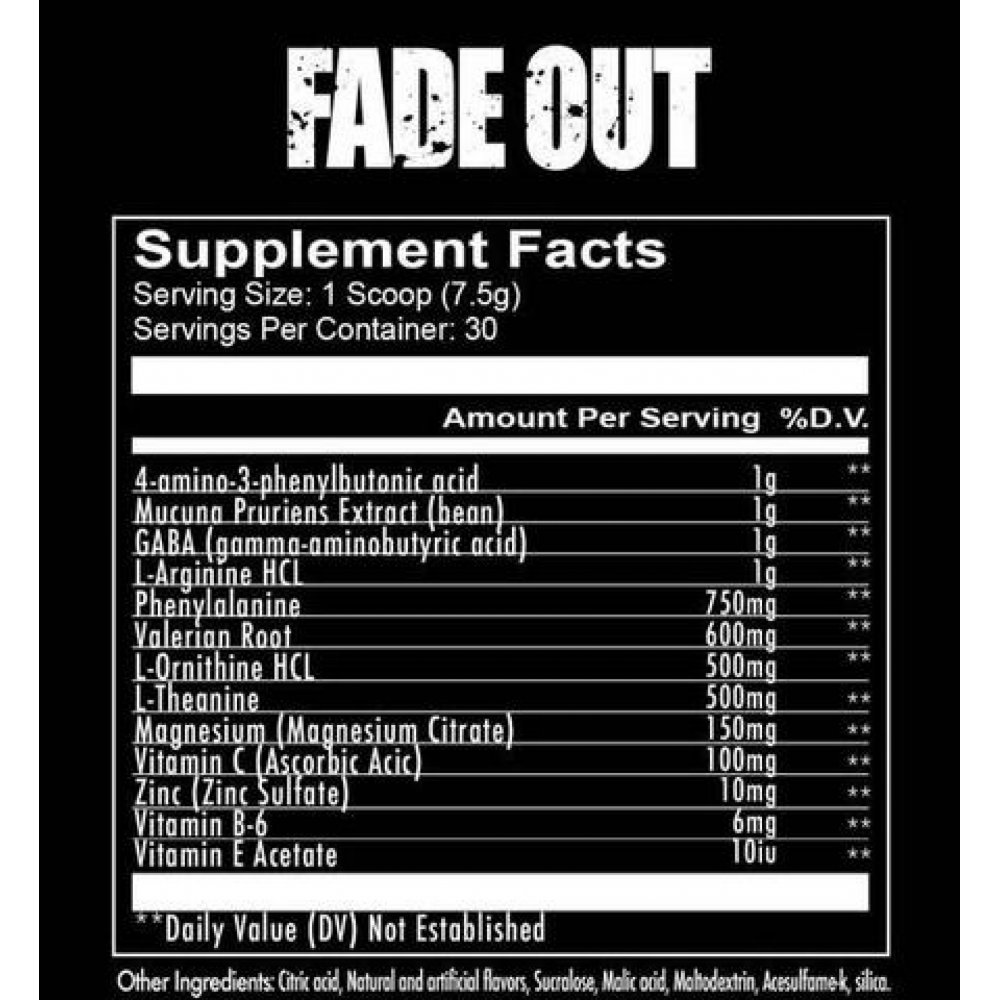 Fade Out 225gr