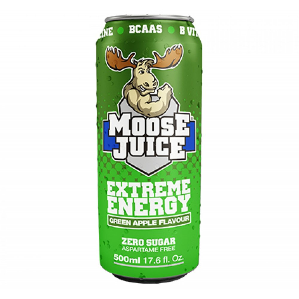 Muscle Moose Juice Green Apple 500ml