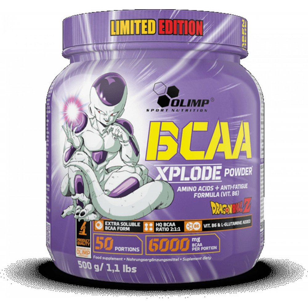 BCAA Xplode Limited Edition Dragon Ball Forest Fruit 500gr