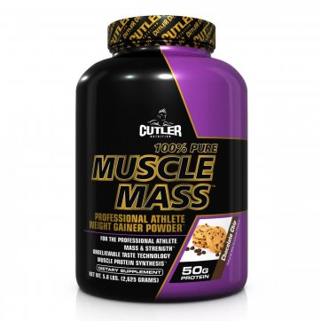 CUTLER NUTRITION  Cutler Nutrition  Muscle mass 2600 gr
