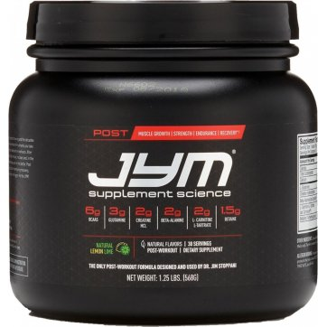 JYM Supplement Science Post Jym Rainbow Sherbet 568gr