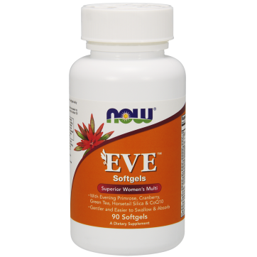 NOW FOODS EVE Women's Multiple Vitamin 90 Softgels