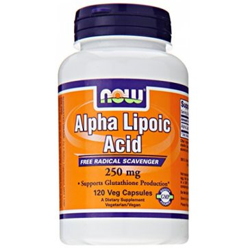 NOW FOODS Now Foods Alpha Lipoic Acid 250mg 120 Veg Capsules