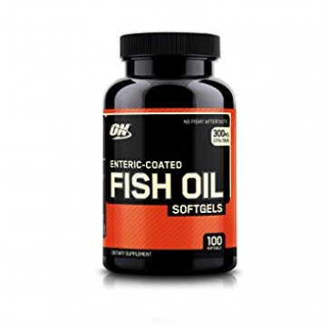 OPTIMUM NUTRITION Enteric Coated Fish Oil 100 softgels