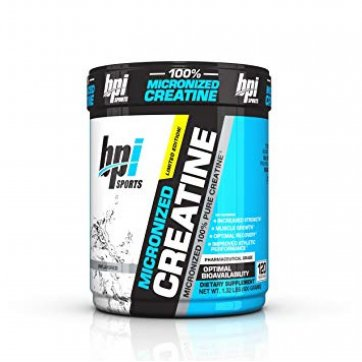 BPI SPORTS Micronized Creatine Unflavored 600gr