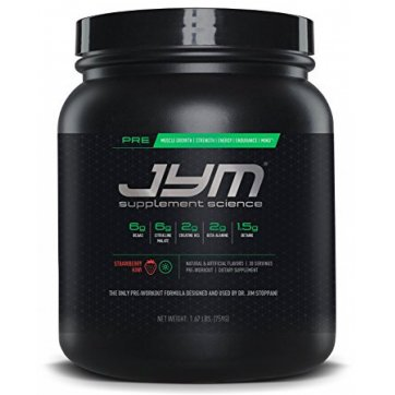 JYM Supplement Science Pre Jym 780gr