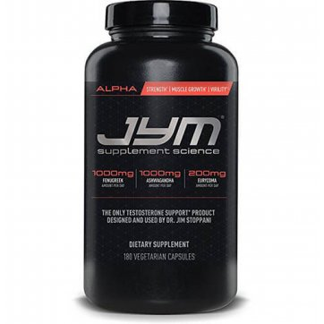 JYM Supplement Science Alpha Jym 180veg caps