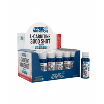 Applied Nutrition L-Carnitine 3000 Shot  + Green Tea 24x38ml Fruit Burst