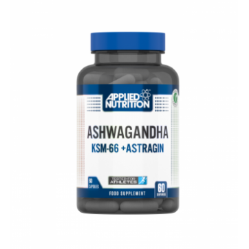 Applied Nutrition Ashwagandha KSM-66 + Astragin 60capsules