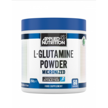 Applied Nutrition L Glutamine Powder Micronized 250g Unflavoured