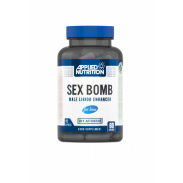 Applied Nutrition Sex Bomb Male Libido Enhancer 120capsules