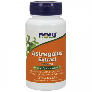 NOW FOODS Astragalus Extract 500 mg 90 capsules