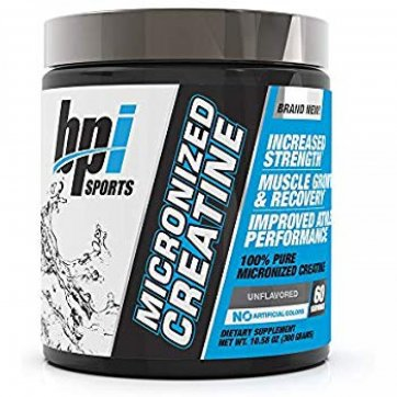 BPI SPORTS Micronized Creatine Unflavored 300gr