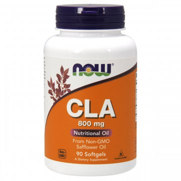 NOW FOODS Now Foods  Cla 800 mg 90 softgel