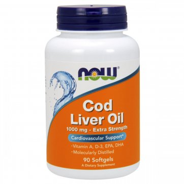 NOW FOODS Now Foods  Cod Liver Oil 90 Softgels