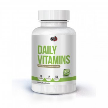 PURE NUTRITION Daily Vits 50caps