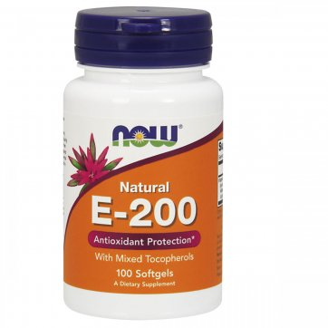 NOW FOODS Vitamin E 200 100 caps