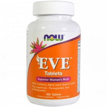 NOW FOODS EVE Women's Multiple Vitamin 180 Tablets