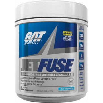 GAT SPORTS Jet Fuse Exotic Fruit 630gr