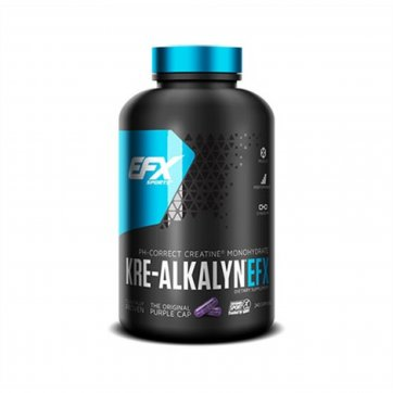 EFX SPORTS Kre-Alkalyn 120capsules