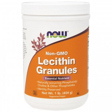 NOW FOODS Lecithin Granules 454gr