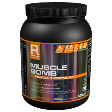 REFLEX NUTRITION Muscle Bomb 600gr (with caffeine)