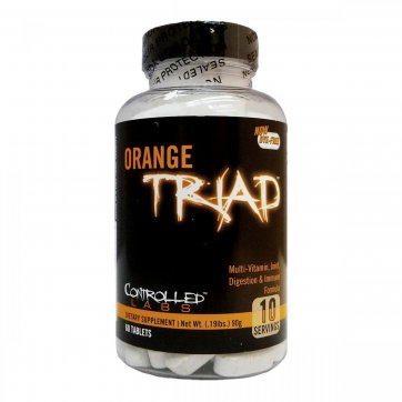 CONTROLLED LABS  Orange Triad 60 tablets