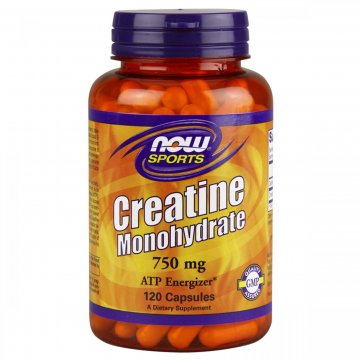 NOW FOODS Creatine Monohydrate 750mg 120 caps