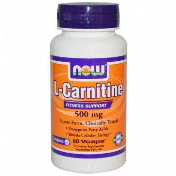 NOW FOODS L-Carnitine 60 veg caps