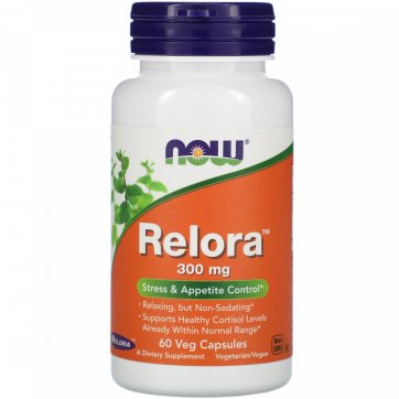 NOW FOODS Relora 300mg 60 veg capsules