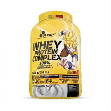 OLIMP NUTRITION  Whey Protein Complex 100% Limited Edition Dragon Ball 2270gr