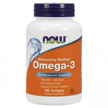 NOW FOODS Omega 3 100Softgels