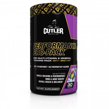 CUTLER NUTRITION  Performance Pro Pack 30 packs