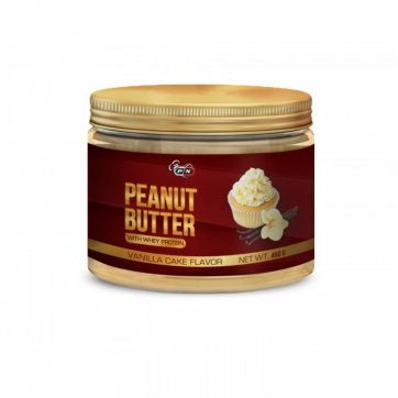 PURE NUTRITION Peanut Butter With Whey Protein Vanilla Cake 450gr