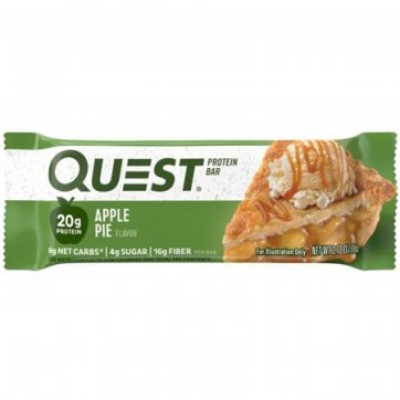 QUEST NUTRITION Quest Nutrition Protein Bar Apple Pie 60 gr