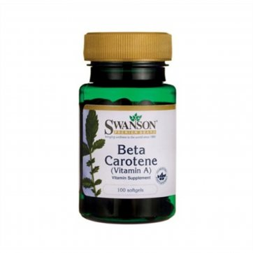 Swanson  Beta Carotene (Vitamin A) 25000 IU 100softgels