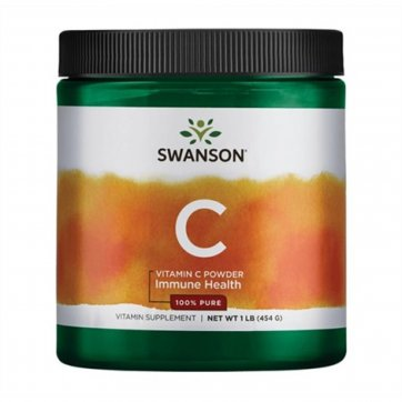 Swanson  Vitamin C Powder Immune Health 454g
