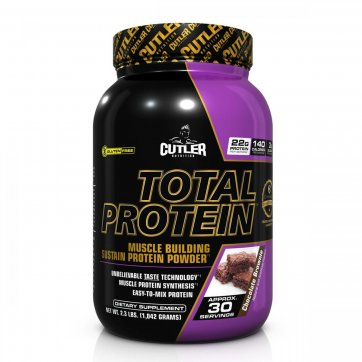 CUTLER NUTRITION  Cutler Nutrition  Total Protein 1042 gr