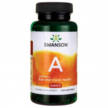 Swanson  Vitamin A 10000IU 250 softgels