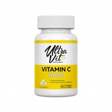 Vp Laboratory Ultra Vit Vitamin C1000 60vegan capsules