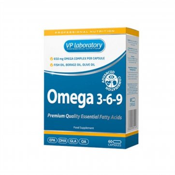 Vp Laboratory Omega 3-6-9 60softcaps